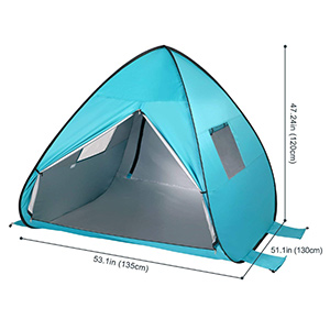 best wolfwise baby beach tent