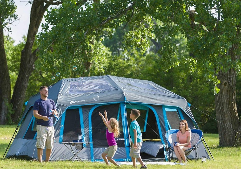 Ozark Trail Tents: 10-Person Dark Rest Instant Cabin Tent