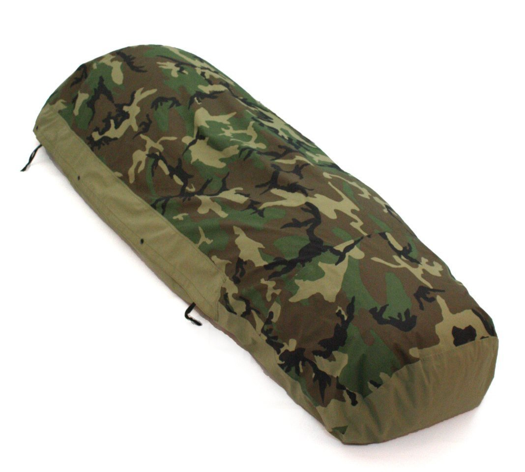 Tennier Woodland Camouflage Bivy Cover