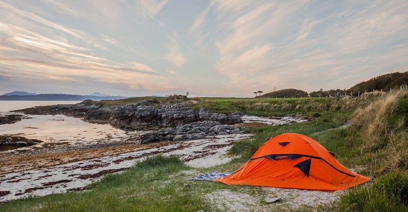 tips for pitching a tent