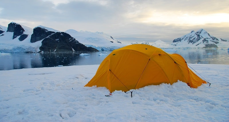 insulated tents