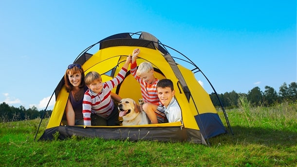 how to choose the perfect tent for your family